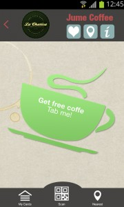 get free coffee