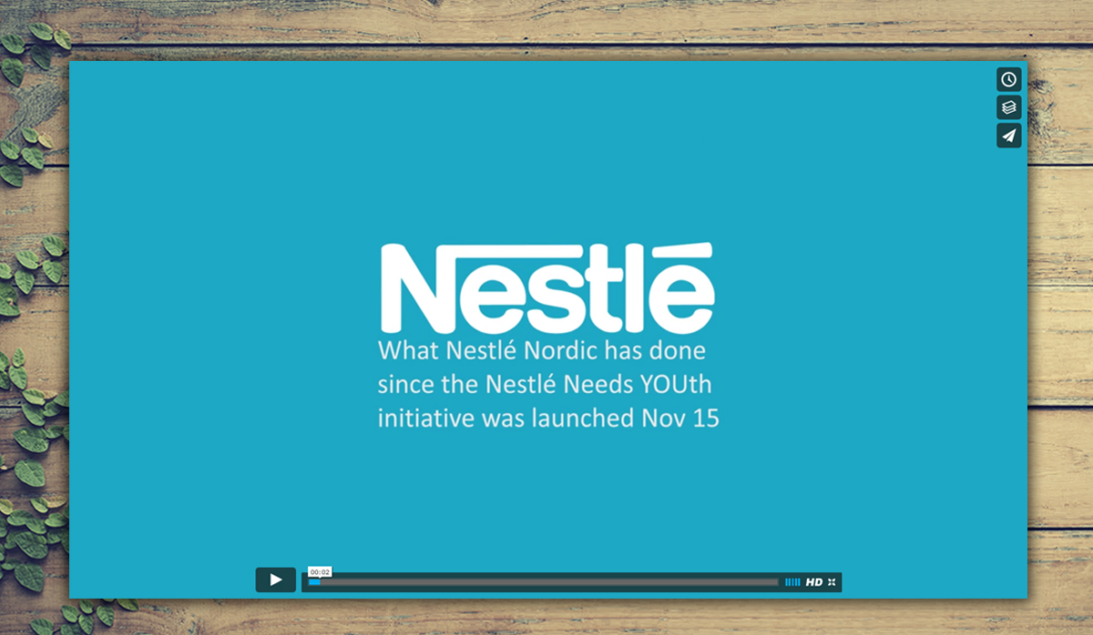 Nestlé Youth program